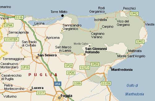 map San Nicandro
